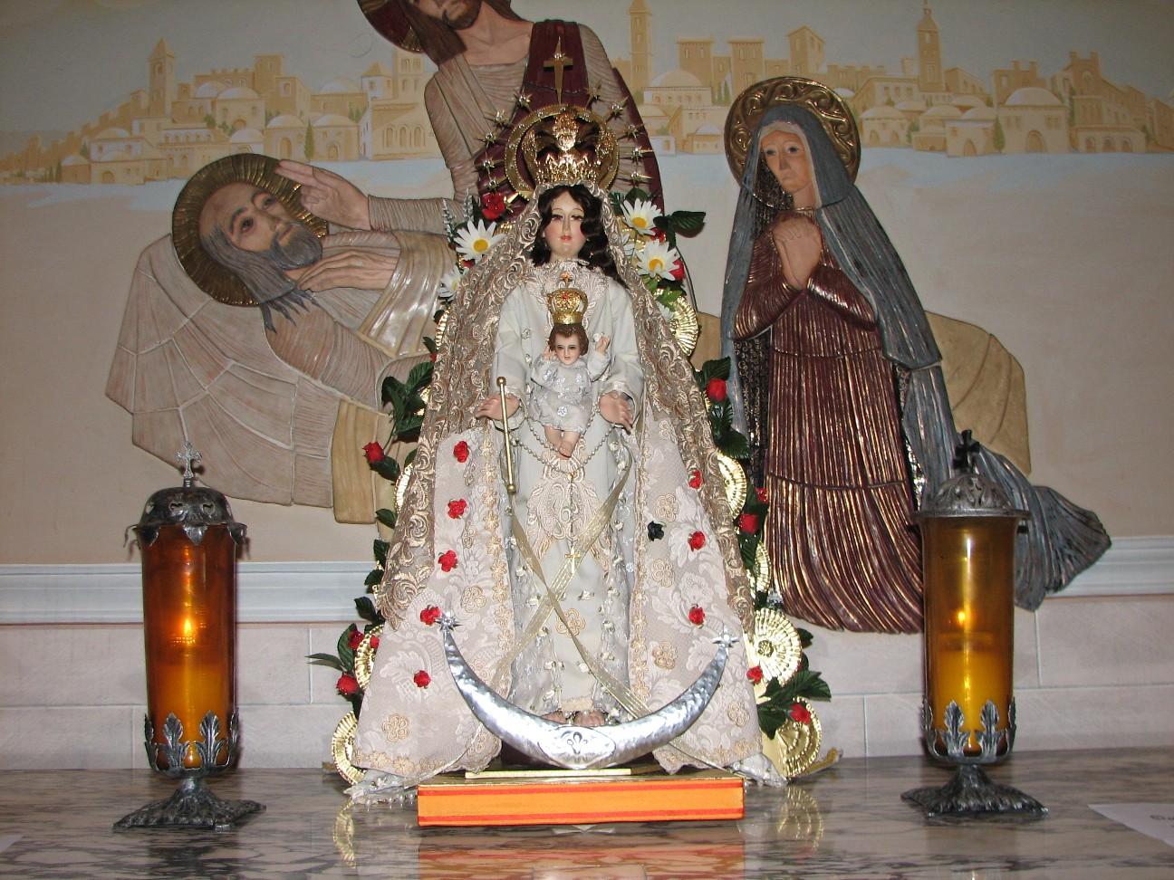Virgen del Rocio St Victors.JPG